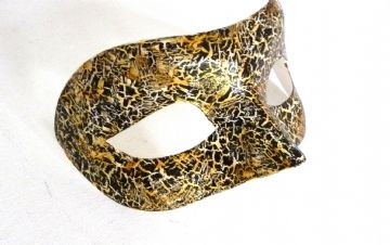Genuine Venetian Exclusive Crackle Eye Mask  a
